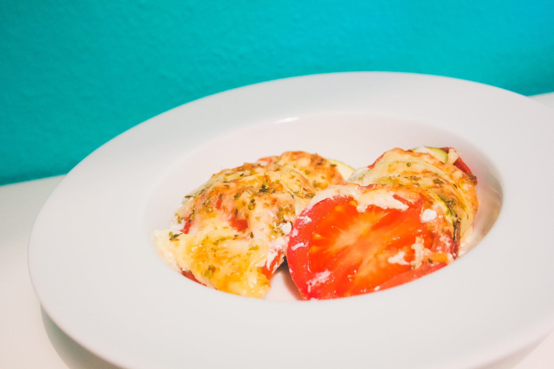 Tomate-Zuccini-Auflauf